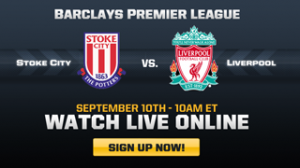 Stoke Liverpool on foxsoccer.tv in the US