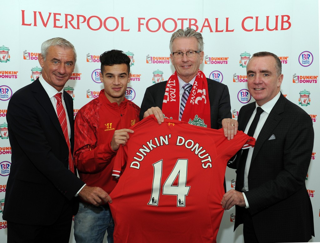 Rushie, Coutinho, Jordan Henderson's shirt, Nigel Travis and Ian Ayre