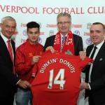 Rushie, Coutinho, Jordan Henderson's shirt, Nigel Travis and Ian Ayre