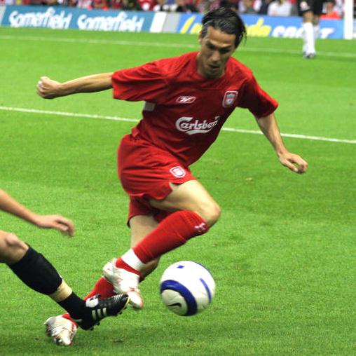 Garcia in action for the Reds (Pic: Phillip Chambers / Wikipedia)