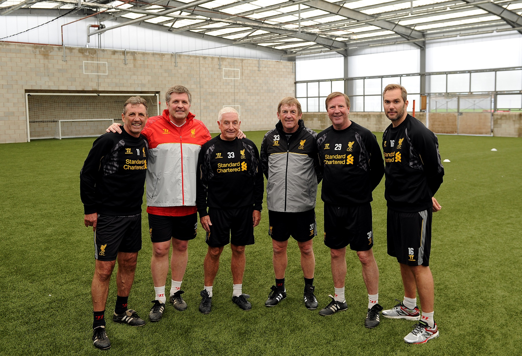 Legends Training Session 01