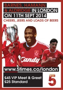 LFC Legends in London