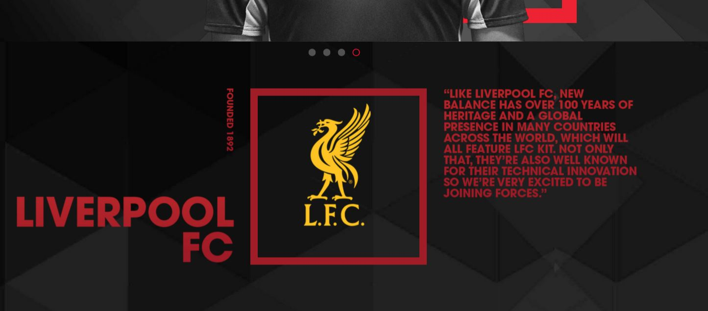 New Balance Football and Liverpool FC