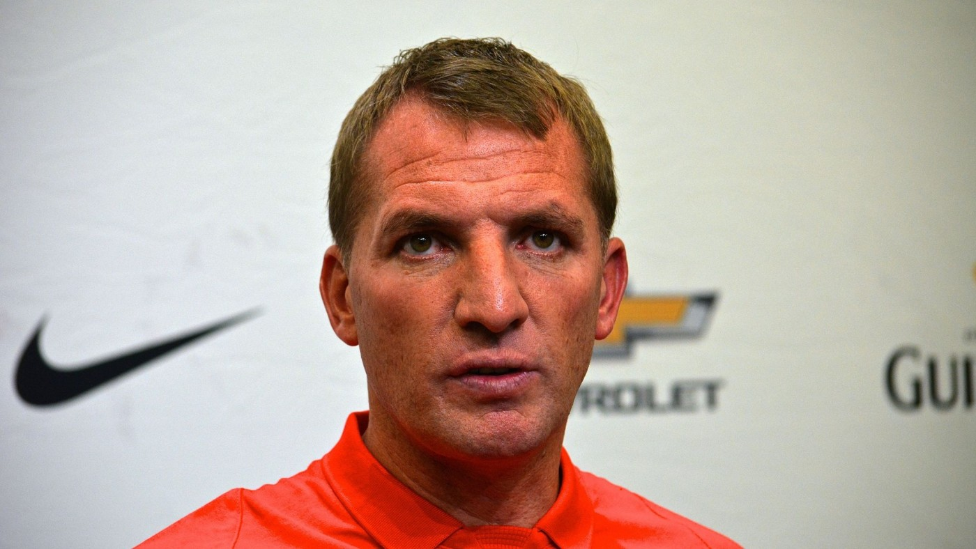"Brendan Rodgers (Image: Geoffrey Hammersley (Brendan Rodgers) [CC BY-SA 2.0 (http://creativecommons.org/licenses/by-sa/2.0)], via Wikimedia Commons"" )"