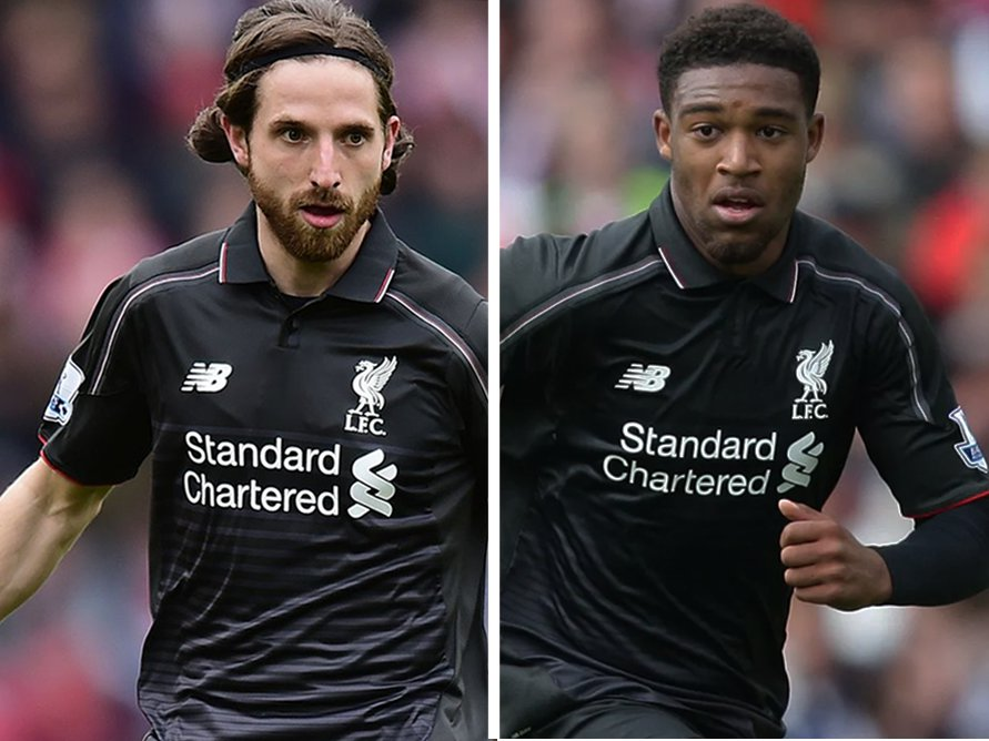 Jordon Ibe and Joe Allen