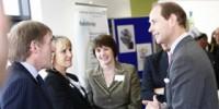 Kenny and Marina Dalglish meet Prince Edward