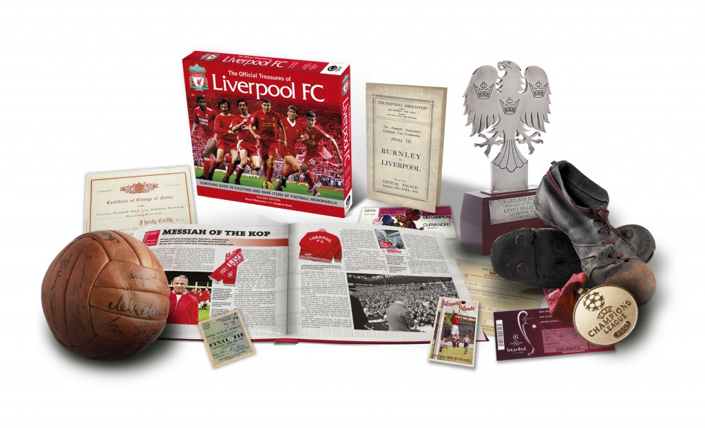 The Official Treasures of Liverpool FC