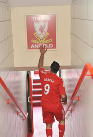A Chance To Play At Anfield Anfield Road