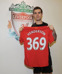 Jordan Henderson has made the most passes for LFC so far this season in the Europa League