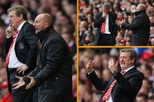 Hodgson and Holloway at Anfield