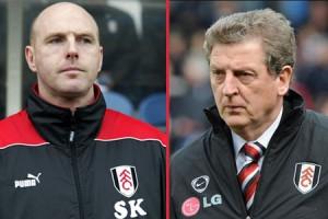 Steve Kean and Roy Hodgson