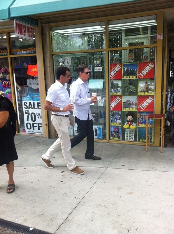 Henry and Martinez in Miami