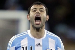 Mascherano on his way