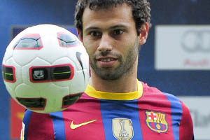 Mascherano signs for Liverpool