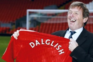 Liverpool manager, Kenny Dalglish.
