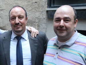 Rafa Benitez at the Indigo last week