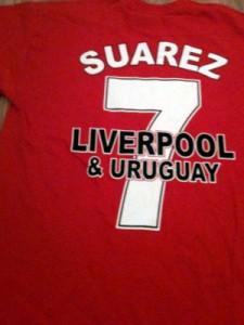 Luis Suarez 7 t-shirt