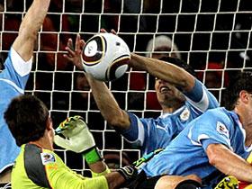 Suarez handball