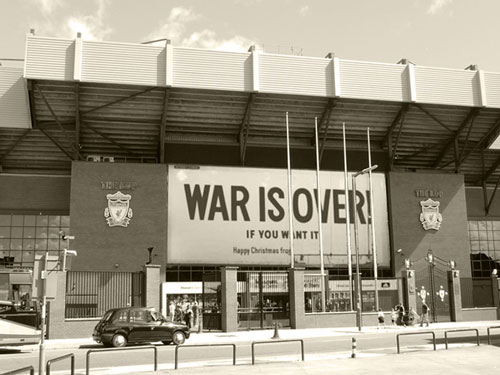 War is over - Merry Christmas